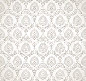 Vector seamless traditional wallpaper Stock Photos