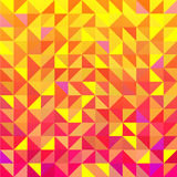 Vector seamless triangle background vector illustration