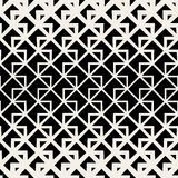 Vector Seamless Triangle Geometric Grid Lines Pattern stock illustration