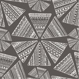 Vector seamless tribal ethnic background. Stock Images