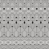 Vector seamless tribal pattern. Abstract geometric Stock Photo
