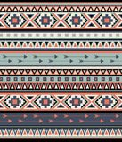 Vector Seamless Tribal Pattern royalty free illustration