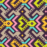 Vector Seamless Tribal Pattern Stock Photography