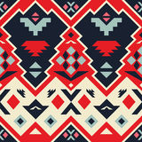 Vector Seamless Tribal Pattern Royalty Free Stock Image