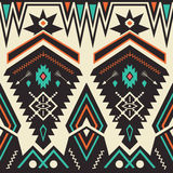 Vector Seamless Tribal Pattern Stock Photos