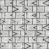 Vector seamless tribal pattern. Hand-drawn background. stock illustration