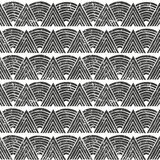 Vector seamless tribal pattern. Hand-drawn background. Stock Photo