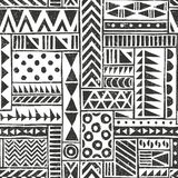 Vector seamless tribal pattern. Seamless Stock Photography
