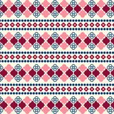 Vector Seamless Tribal Pattern for Textile Design Royalty Free Stock Image