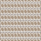 Vector Seamless Tribal Pattern for Textile Design Royalty Free Stock Images