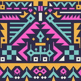 Vector Seamless Tribal Pattern for Textile Design Royalty Free Stock Photos