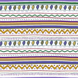 Vector seamless tribal texture Royalty Free Stock Photography