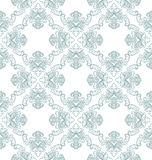 Vector seamless vintage damask pattern Royalty Free Stock Photo