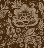 Vector seamless vintage floral pattern Stock Photo