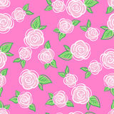 Vector Seamless Vintage Flower pattern. vector illustration