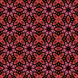 Vector Seamless Vintage Lace Pattern Royalty Free Stock Photo