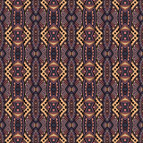 Vector Seamless Vintage Lace Pattern Stock Image