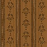 Vector seamless wallpaper Stock Image