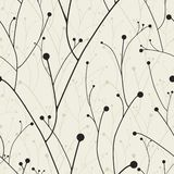 Vector seamless wallpaper... Stock Images