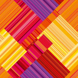 Vector seamless wallpaper with colorful stripe. Royalty Free Stock Photos