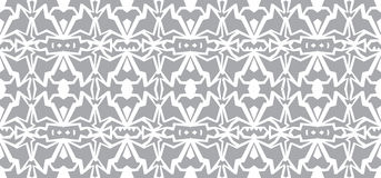 Vector seamless wallpaper. Monochrome abstract pattern Royalty Free Stock Photos