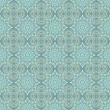 Vector seamless wallpaper pattern Royalty Free Stock Image