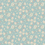 Vector seamless wallpaper pattern Royalty Free Stock Photos