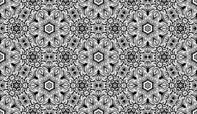 Vector seamless wallpaper pattern Stock Image