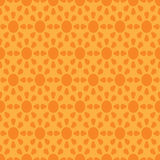 Vector seamless wallpaper with suns Royalty Free Stock Photo