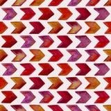 Vector Seamless Watercolor Geometric Pattern vector illustration