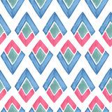 Vector Seamless Watercolor  Pattern Royalty Free Stock Image