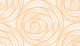 Vector seamless wave background of doodle drawn lines. Abstract vector seamless floral background of doodle hand drawn lines. Monochrome pattern. Coloring book Royalty Free Stock Images