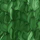 Vector seamless wave background of drawn lines Stock Photography