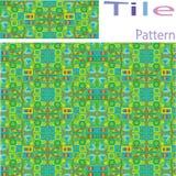 Vector Seamless White Geometric Primitive Square Blocks Grid Pat Royalty Free Stock Image