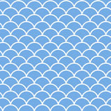 Vector seamless winter pattern with snowbank Royalty Free Stock Image