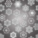Vector Seamless Winter Pattern Royalty Free Stock Photography
