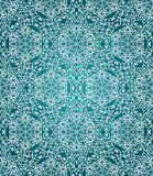 Vector Seamless Winter Pattern with Snowflakes Stock Image