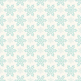 Vector seamless winter retro pattern Royalty Free Stock Photography