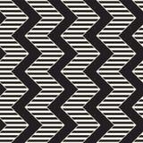 Vector seamless zigzag line pattern. Abstract stylish geometric background. Repeating lattice background. Vector seamless zigzag line pattern. Abstract stylish stock illustration