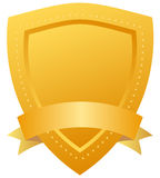 Vector security shield icon royalty free illustration