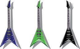 Vector series. Electric guitars Stock Photo