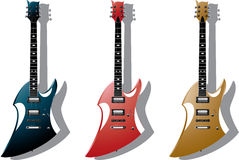 Vector Series. Electric Guitars Stock Image