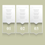 Vector series of pamphlet background Stock Photo