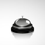 Vector service bell illustration. Realistic design Stock Photo