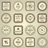 Vector set Royalty Free Stock Image