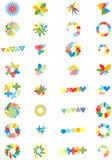 Vector Set of 32 Corporate Design Elements Stock Photo
