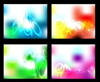 Vector set abstract background Royalty Free Stock Image