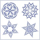 Vector Set of Abstract Sacred Geometry Symbols. Stock Photos