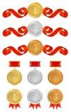 Vector set: Awards Royalty Free Stock Photo
