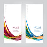 Vector set background Royalty Free Stock Photo